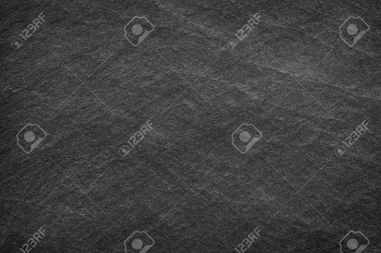 Dark grey black slate background or texture. - 51598647