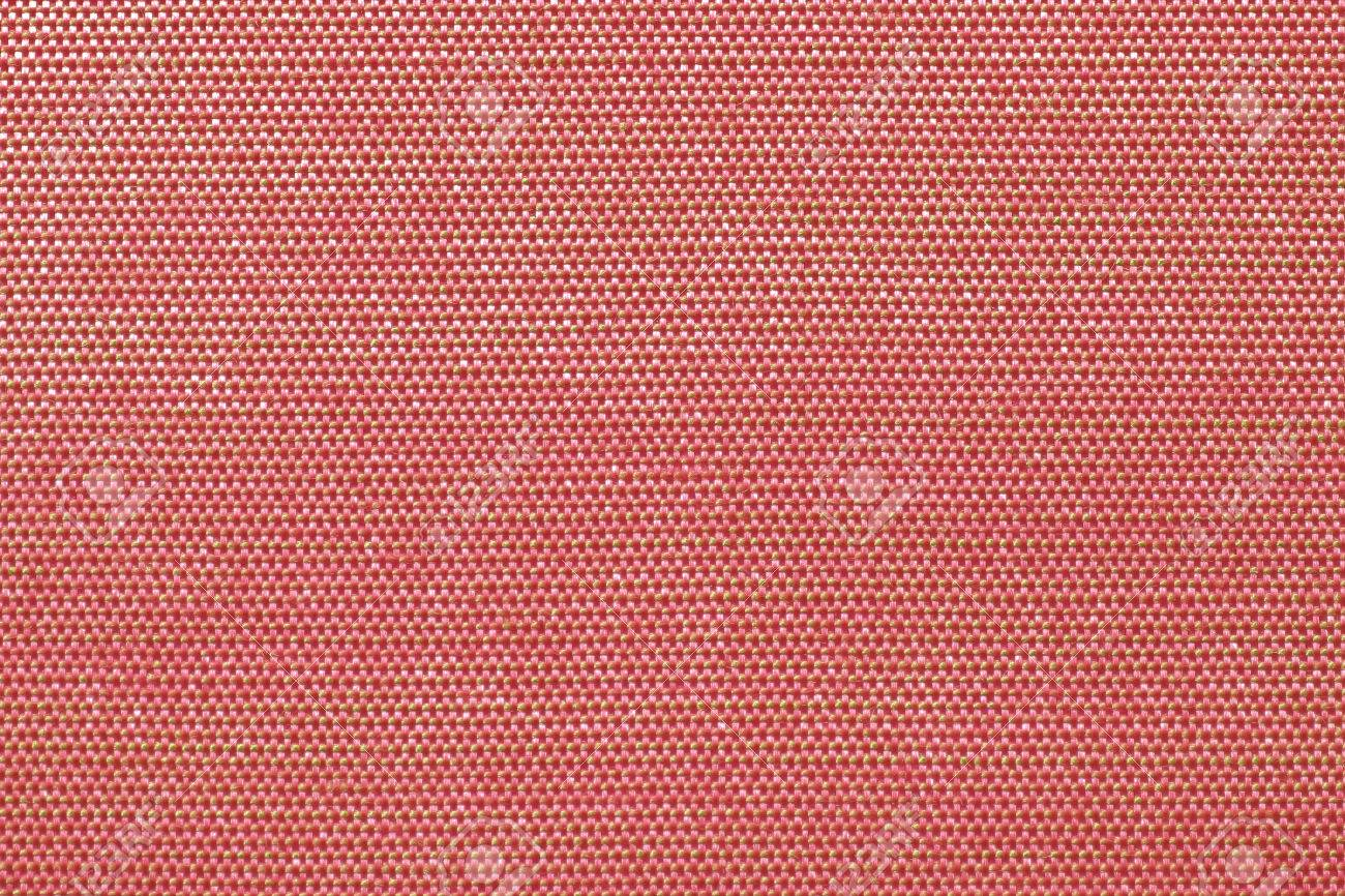 Silk Fabric Wallpaper Texture Natural Pattern Textile Background In Shiny Light Bright Red Color Tone