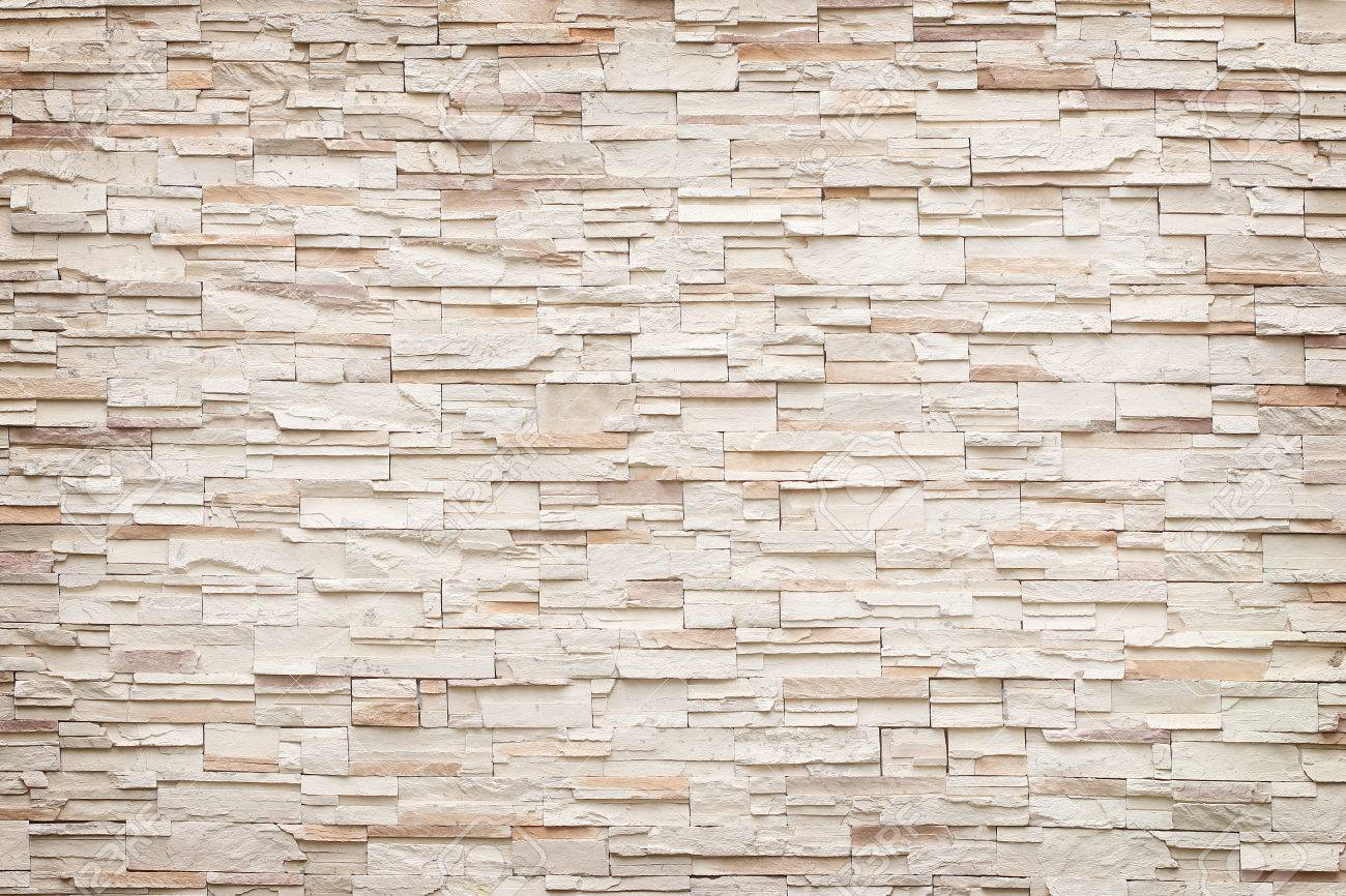 Pattern Of Decorative Stone Wall Background Stock Photo   64347502
