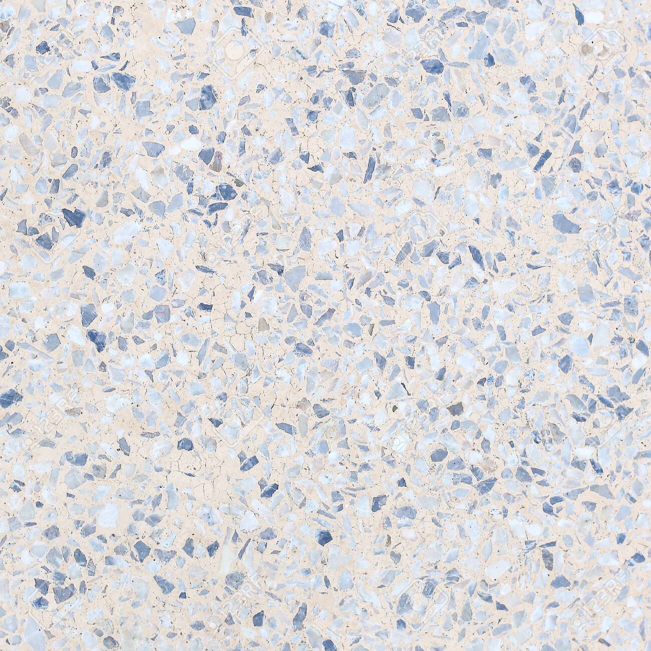 Terrazzo Flooring Texture Polished Stone Pattern Old Surface