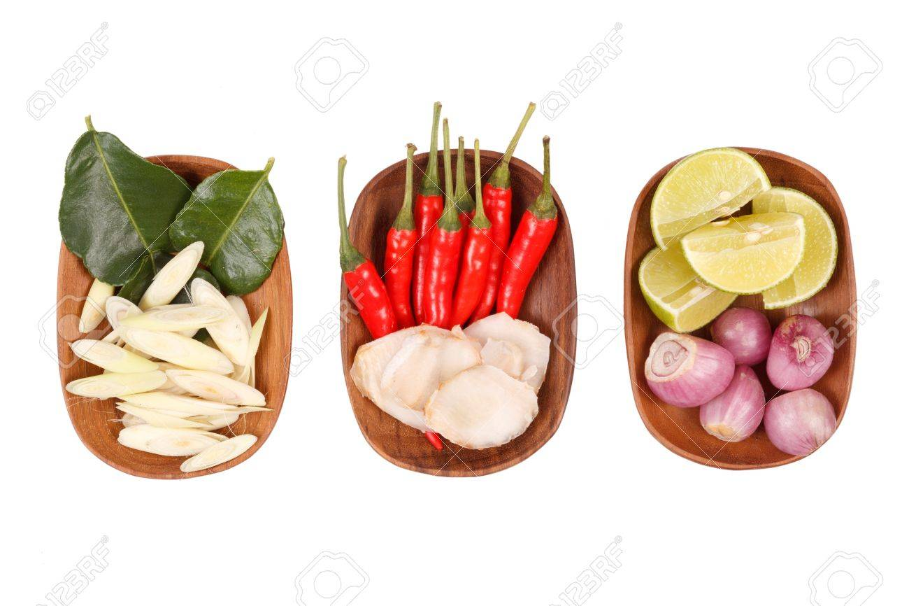 Spicy thai food ingredients chili limegingerred onionlemongrass spicy thai food ingredients chili limegingerred onionlemongrass isolated on forumfinder Image collections