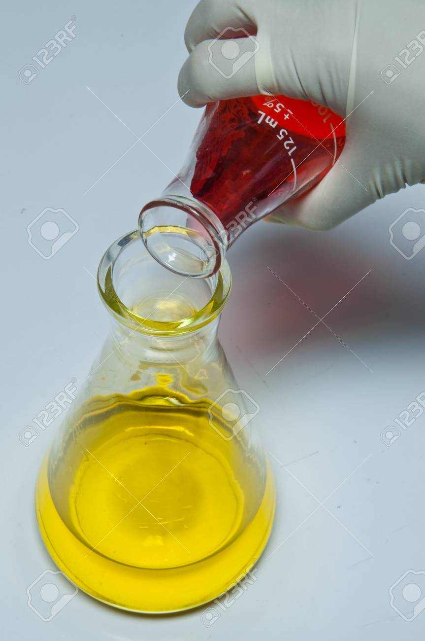 A scientist working in laboratory. Stock Photo - 11539063