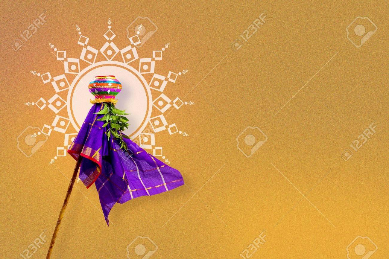 Gudi Padwa Marathi New Year Stock Photo Picture And Royalty Free