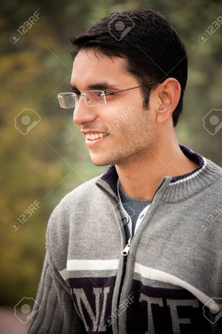 Handsome Indian man Stock Photo - 9432264