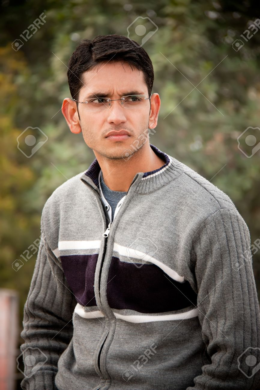 Handsome Indian man Stock Photo - 9432183