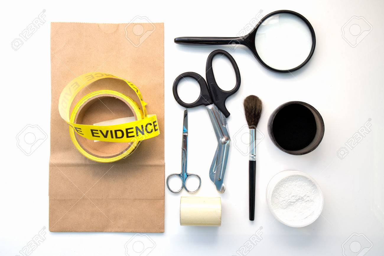 Forensic Tool For Crime Scene Investigation Isolated On White Stock Photo Picture And Royalty Free Image Image 65316751