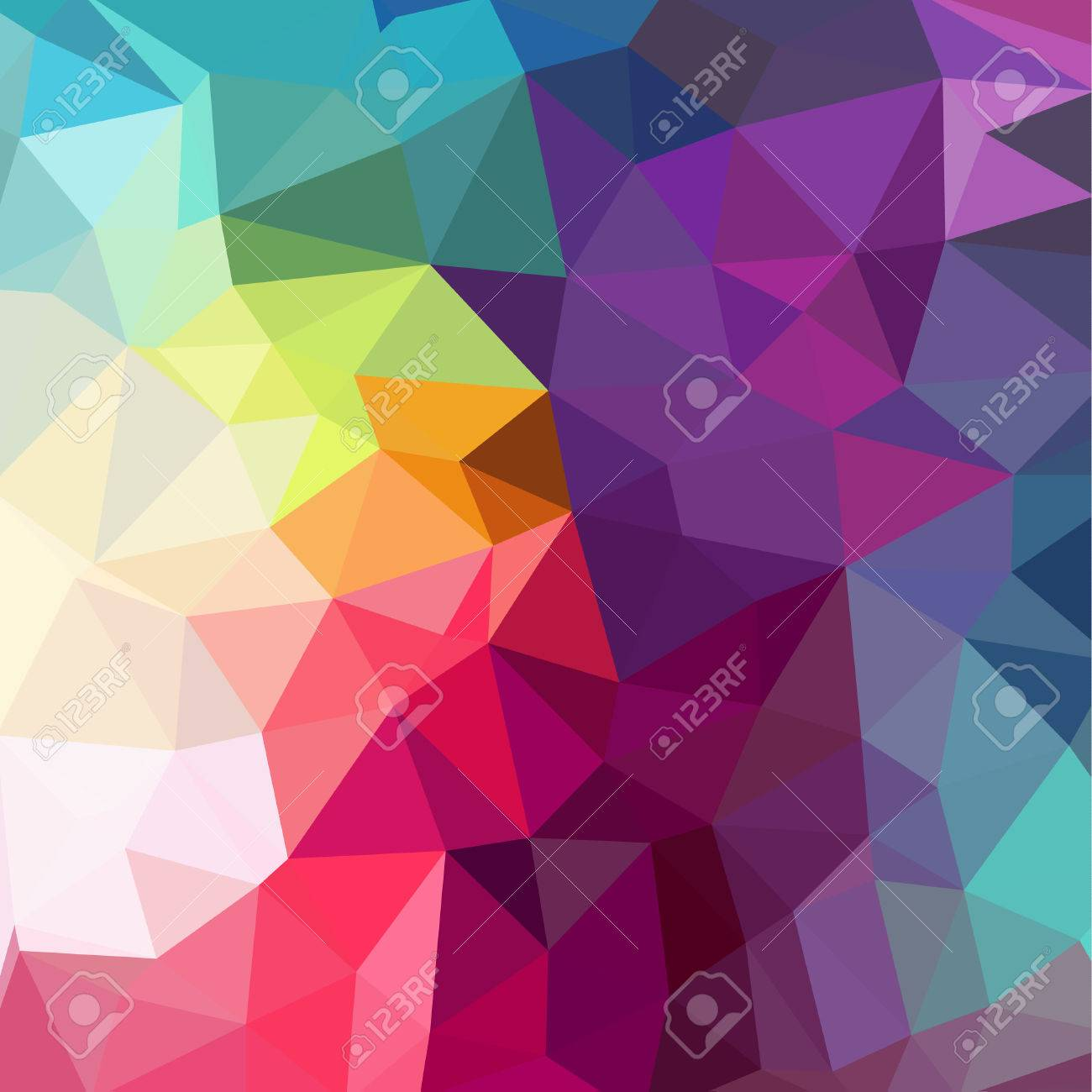 Abstract Geometric backgrounds full Color - 42064913