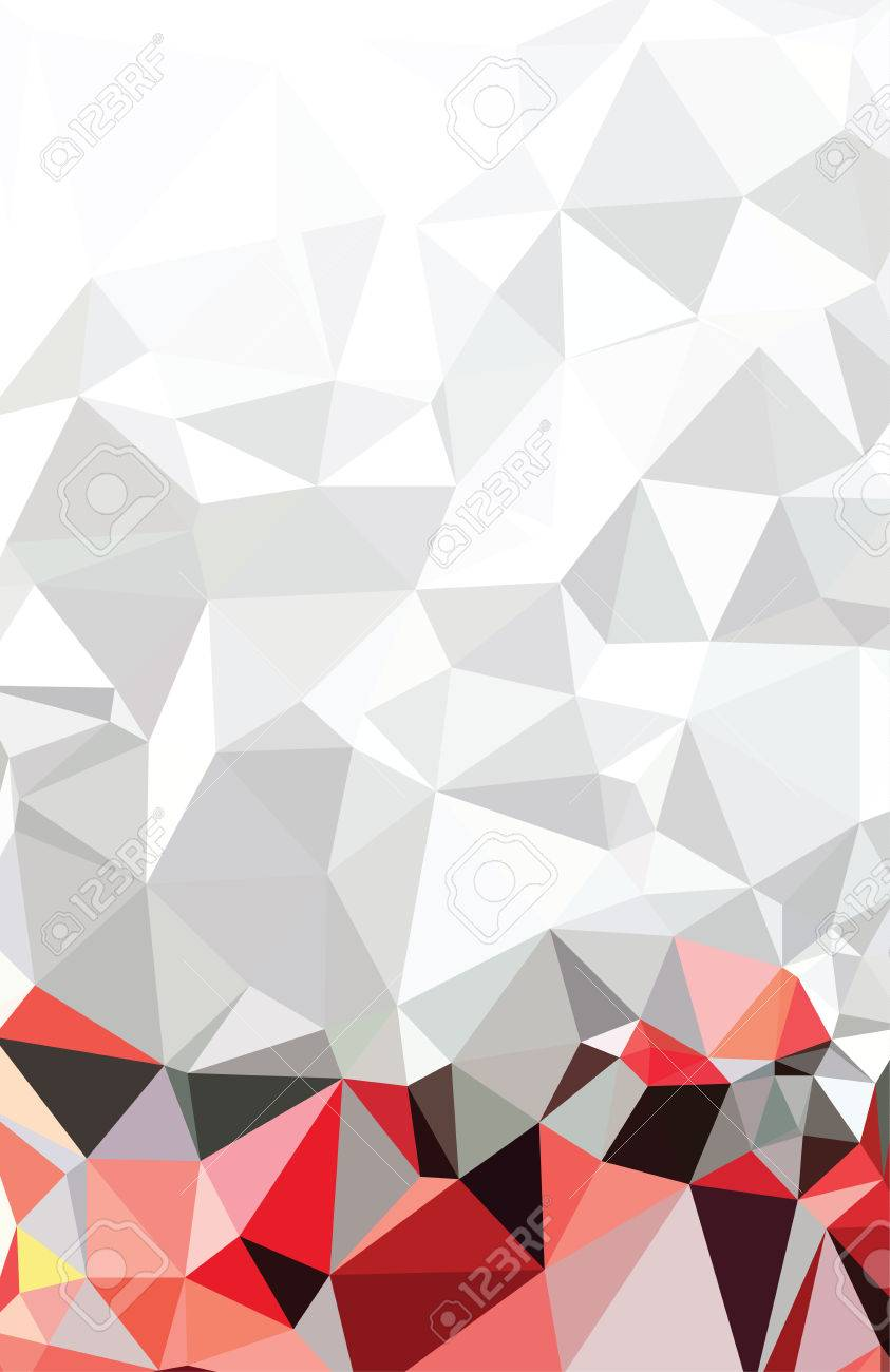Abstract Triangle Geometrical Multicolored - 42507452