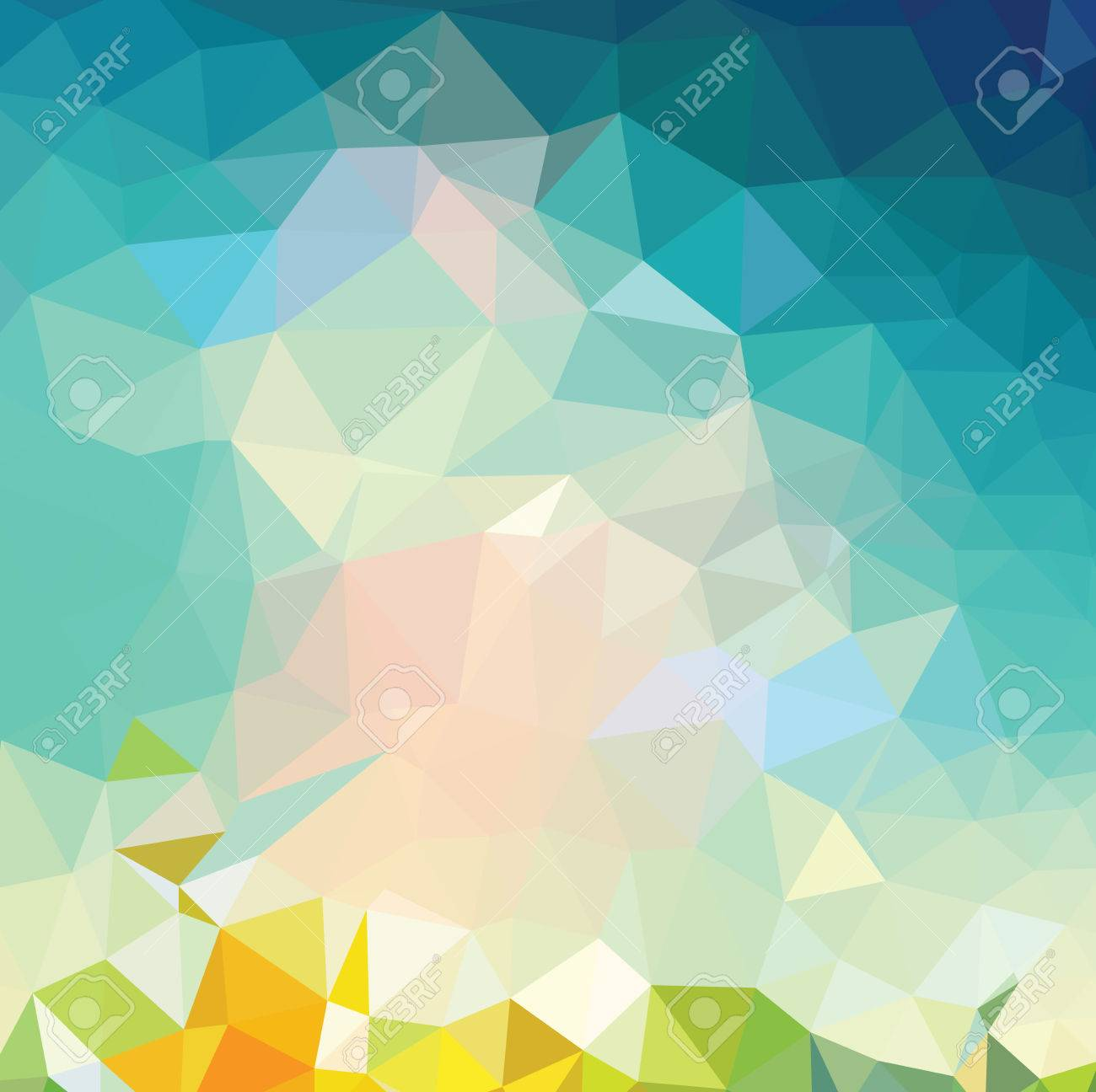Retro pattern of geometric shapes backgrounds - 42529223