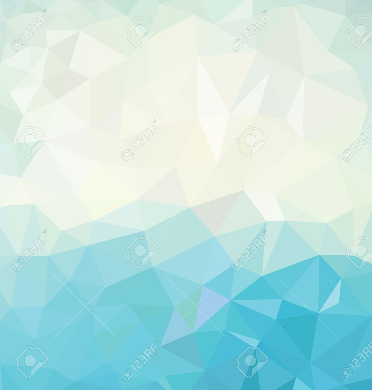 Colorful Geometric Background Stock Vector
