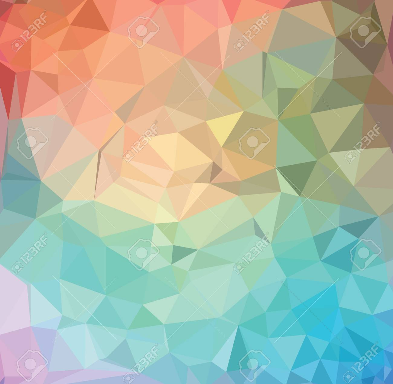 Vector abstract geometrical background - 42531068
