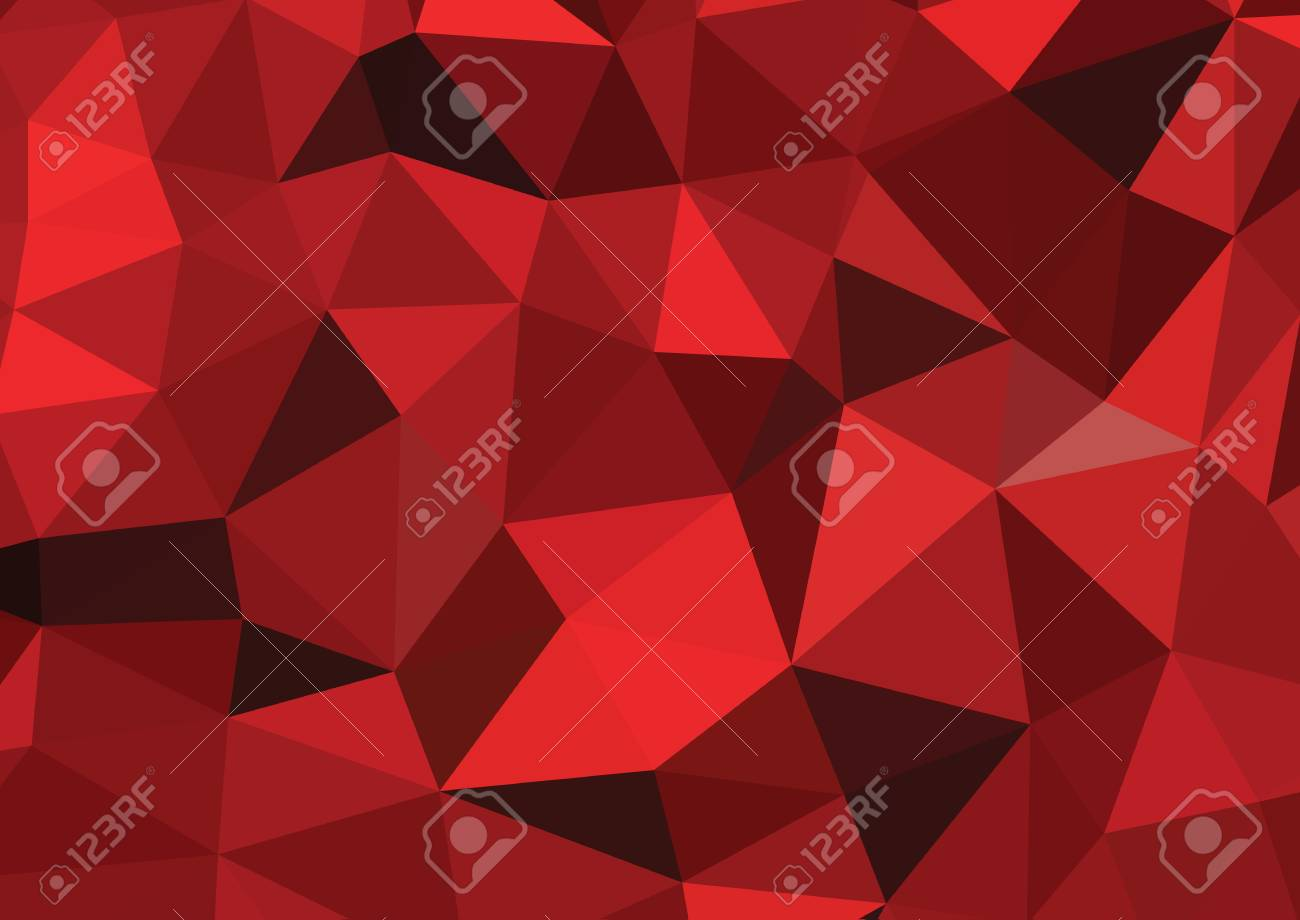 Abstract colorful vector background red - 45314757
