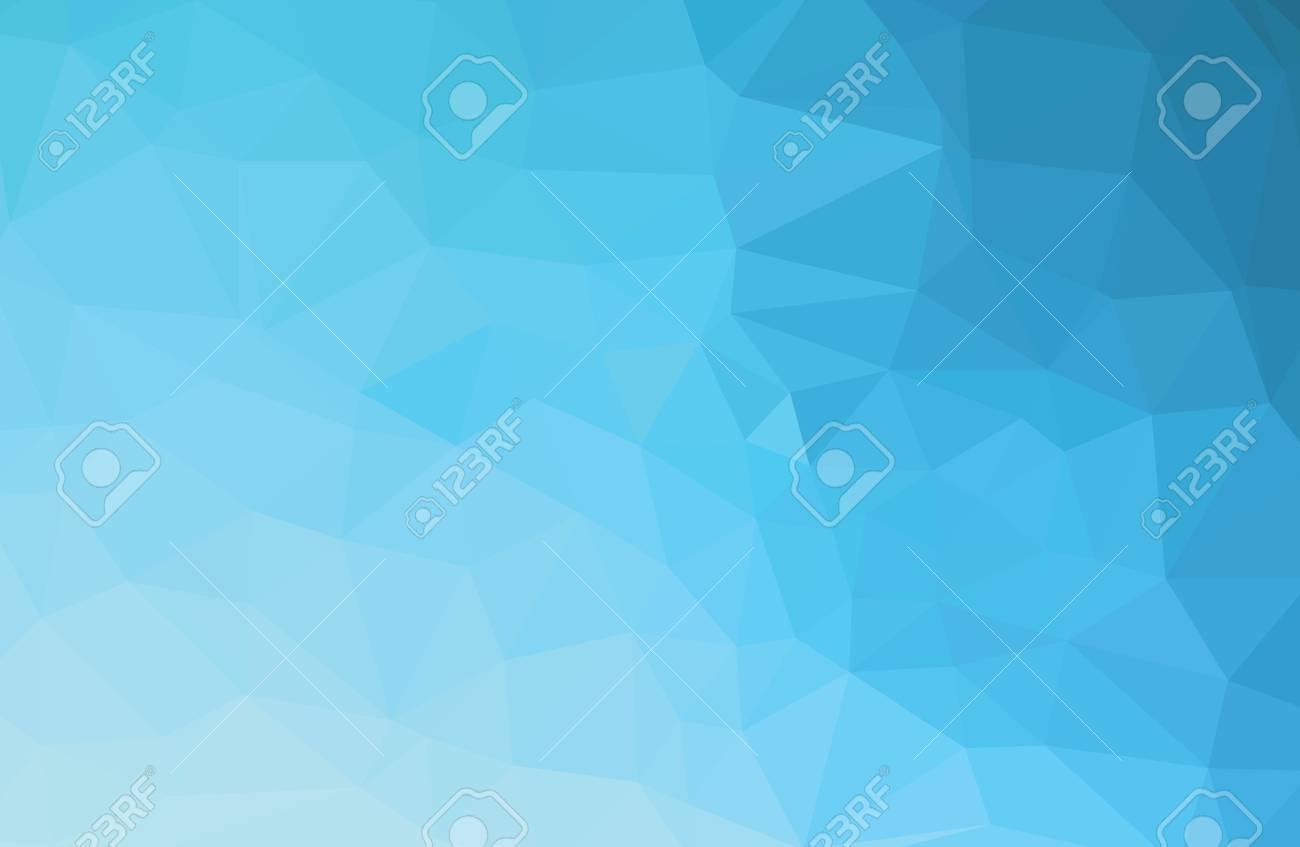 Blue Light Polygonal Templates - 50565719