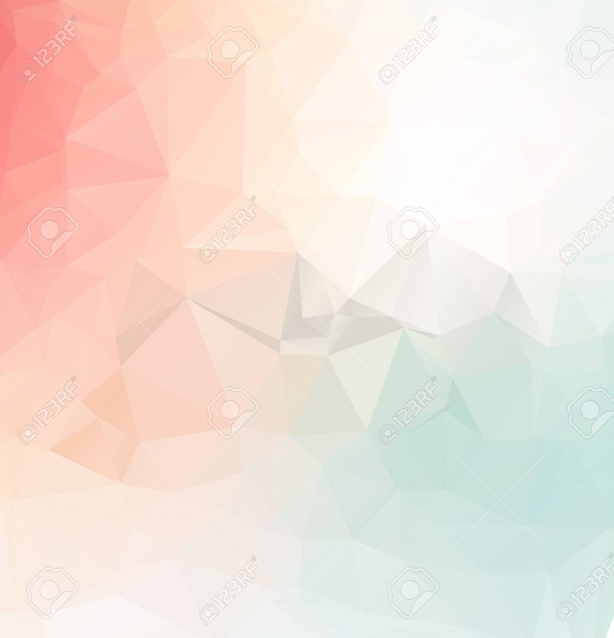 Abstract colorful Triangle Geometrical Illustration Modern Design mosaic - 54855950
