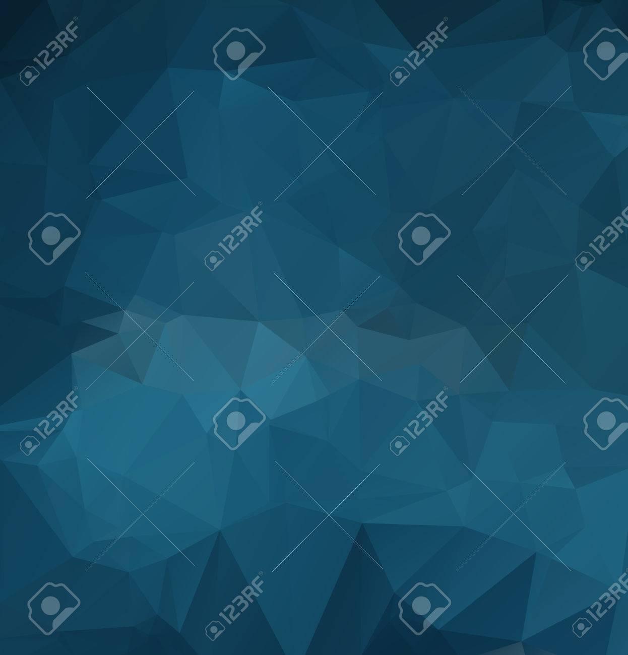 polygonal triangular modern design background - 54856135