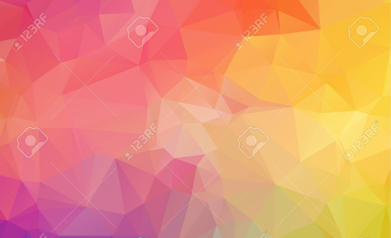 Polygon abstract background - 96762262