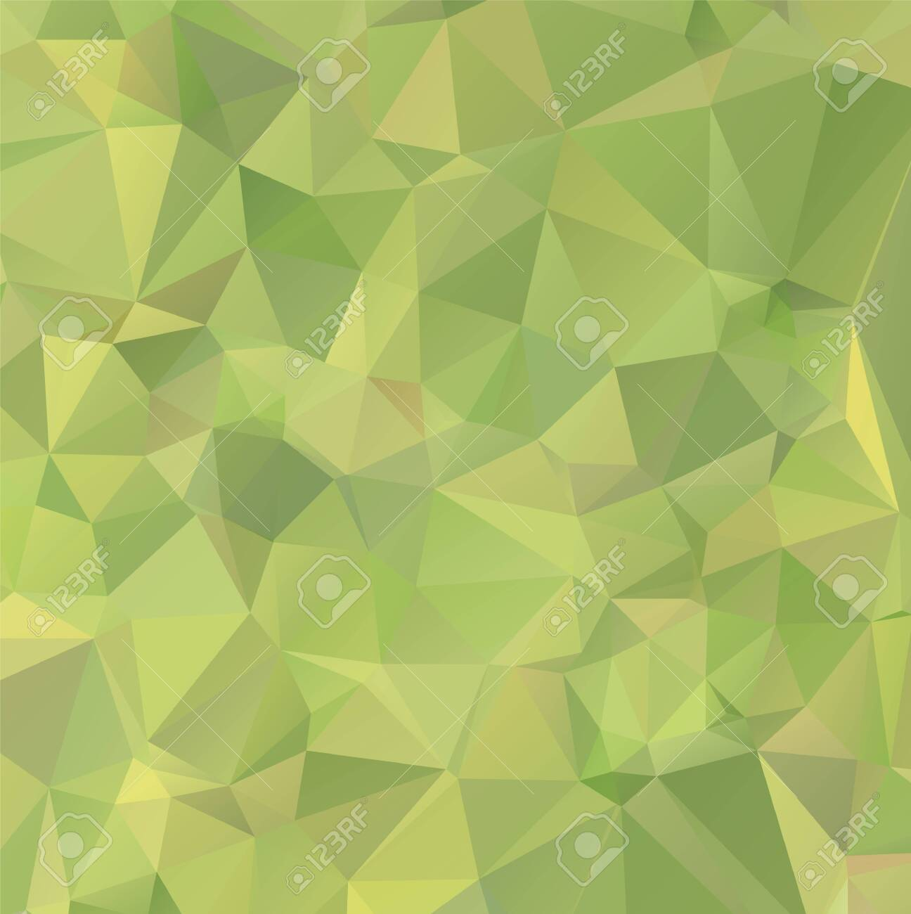 Light Green vector polygon abstract backdrop. Polygonal abstract vector with gradient. Textured pattern for your backgrounds - 125971641