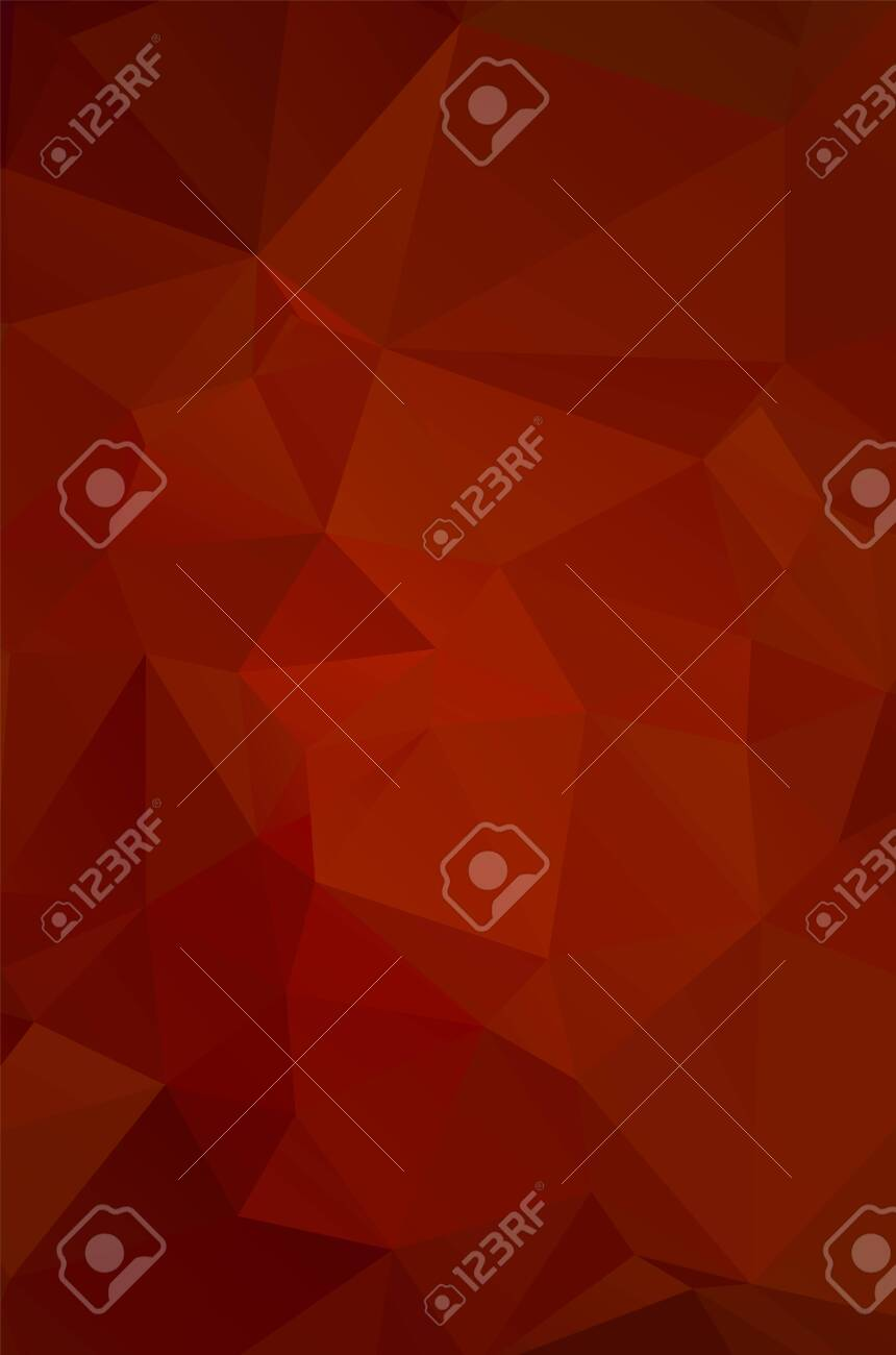 Abstract red geometric background for design - 147124773