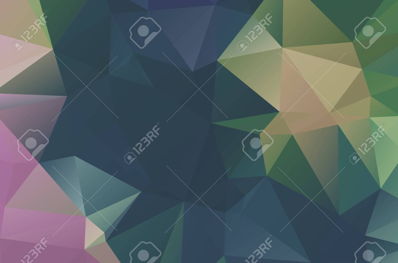 Geometric designs. Vector, multicolor geometric background. Triangles, vivid in the style of cubism - 151364080