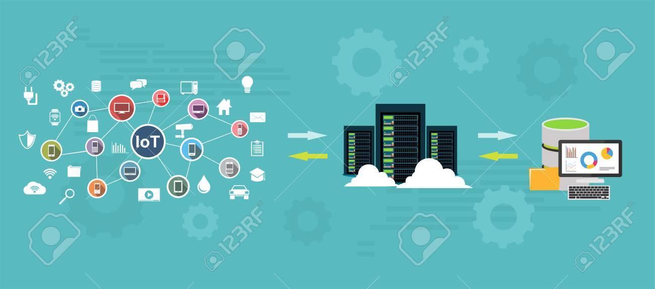 Data warehouse and represent data concept. Data mining. Backup process concept. - 88752073