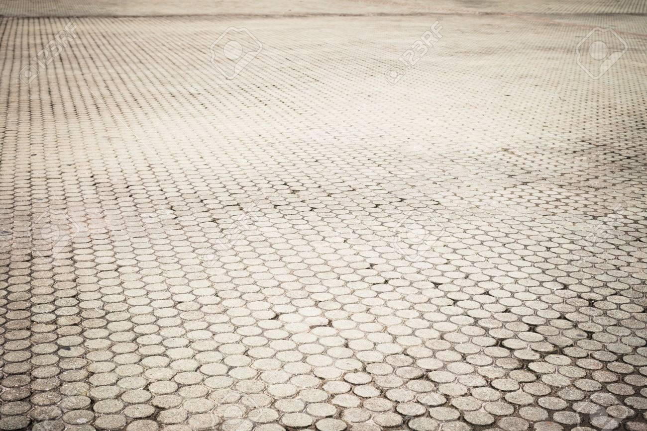 Patroon bestrating tegels cement bakstenen vloer achtergrond