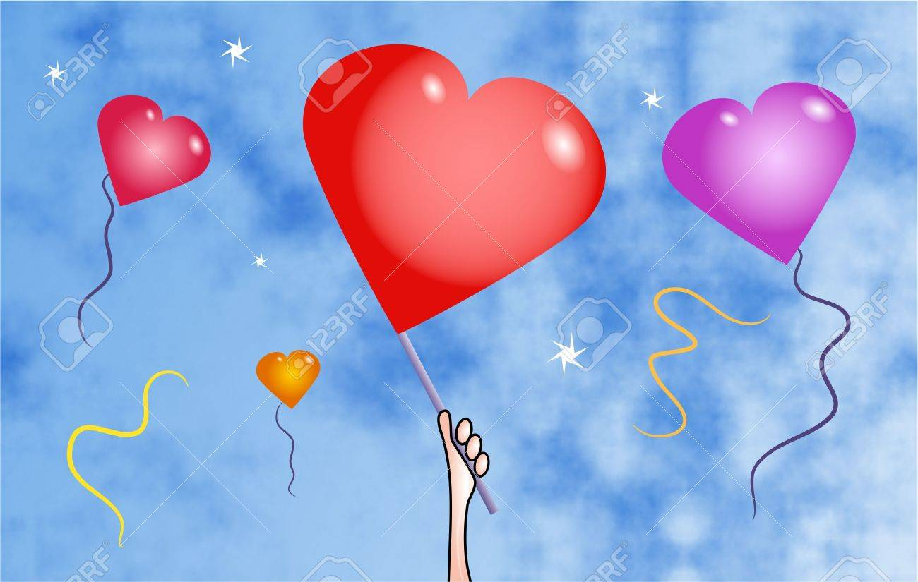 heart balloons Stock Photo - 229387