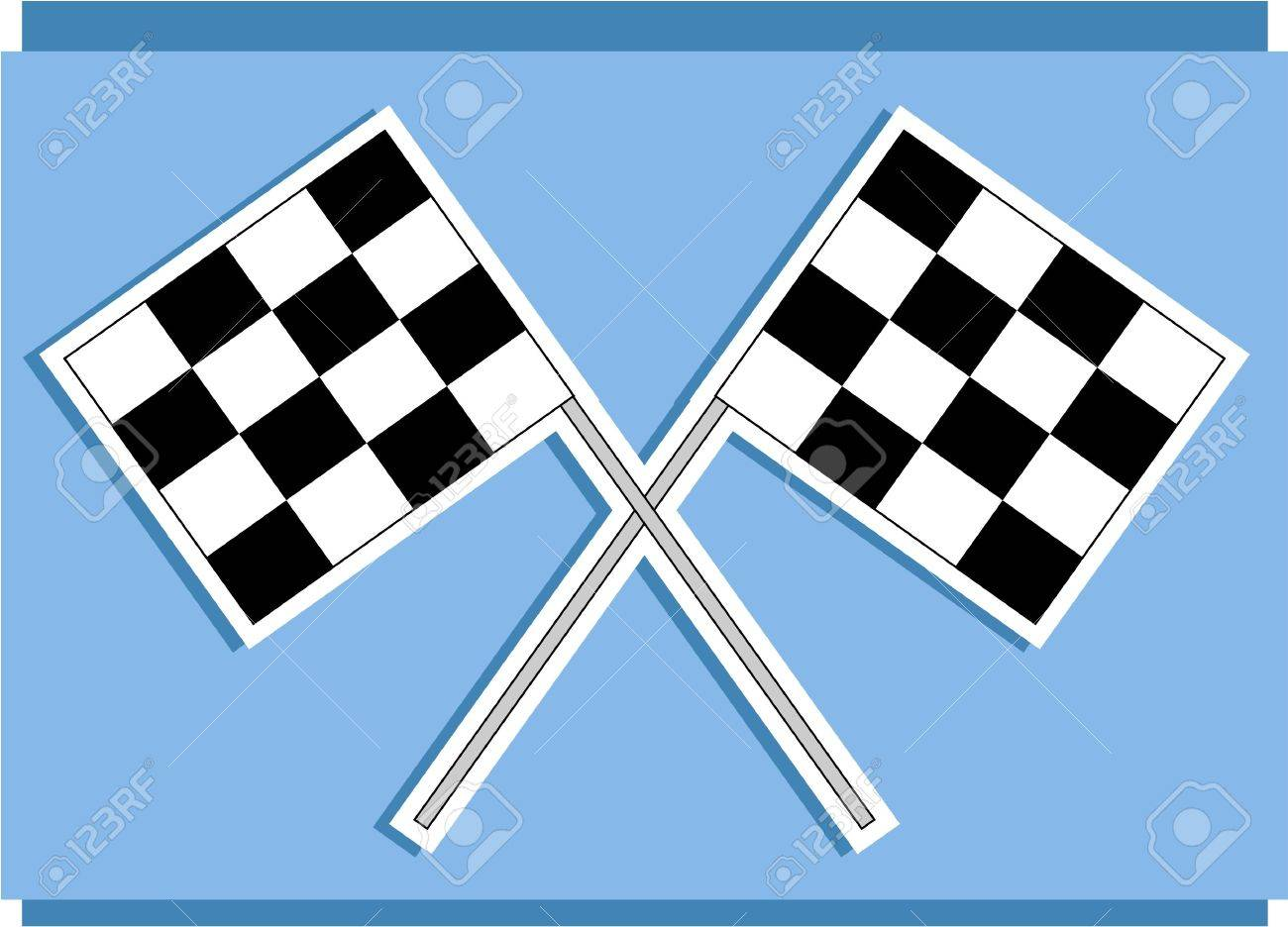 race track flags stock photo picture and royalty free image image