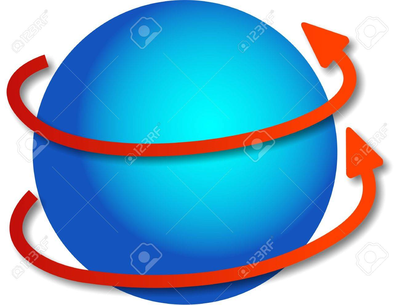 revolving globe stock photo picture and royalty free image image