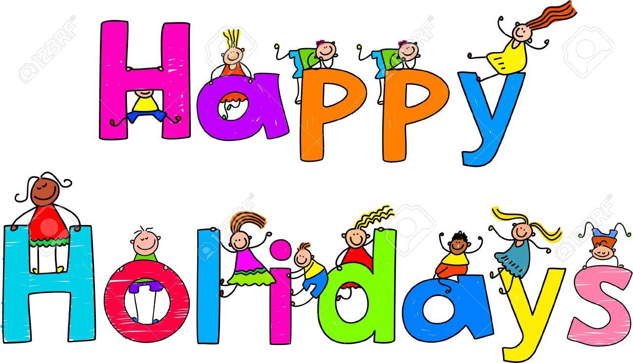 Resultado de imagen de happy holidays kids