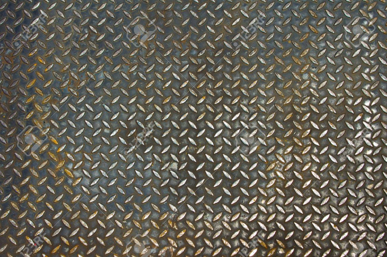 metal diamond plate Stock Photo - 9819549