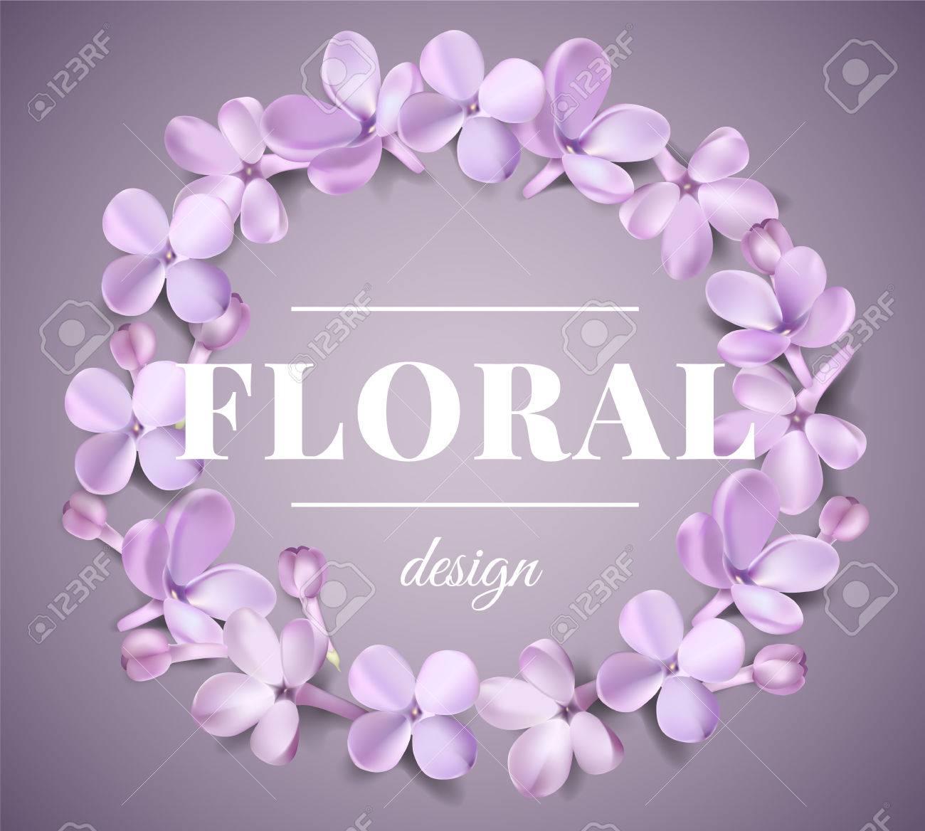 Weiche Pastellfarbe Blumenhintergrund. Lila Lila Blüten Und ...