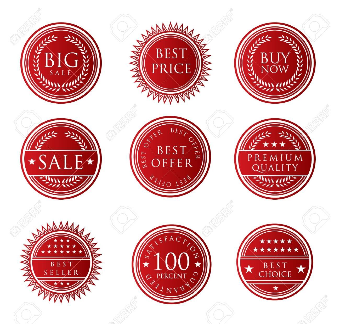Sale Label Stock Vector - 13646115
