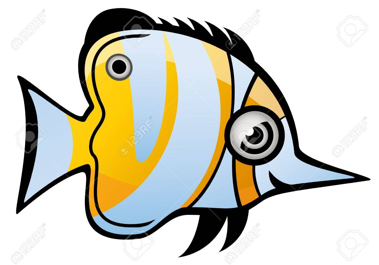 Tropical Fish Stock Vector - 13688758