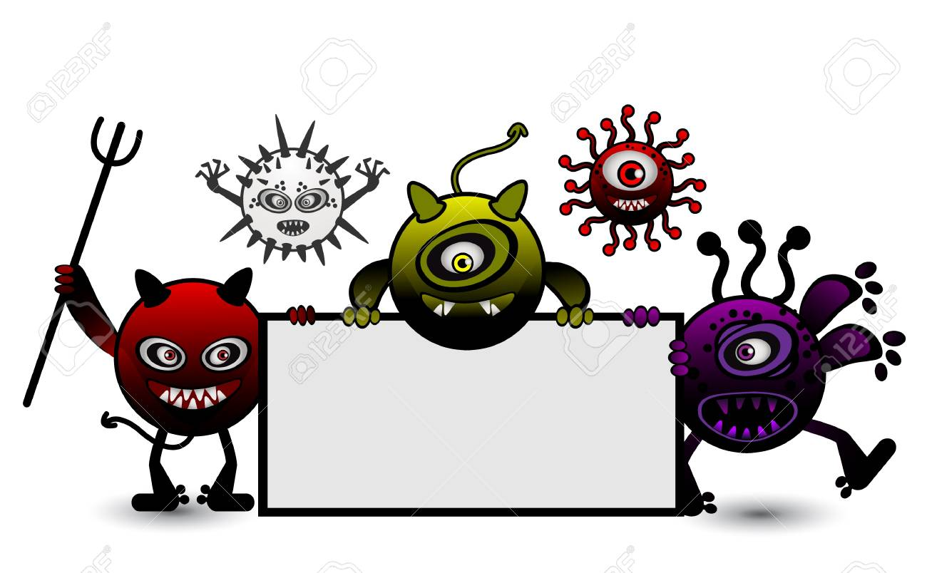 Monster cartoon Stock Vector - 13689234