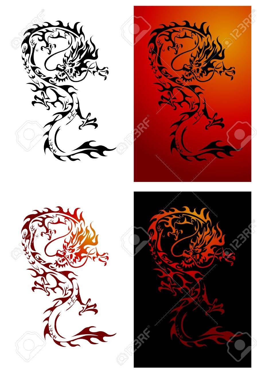 Dragon Illustrator Stock Vector - 14291274