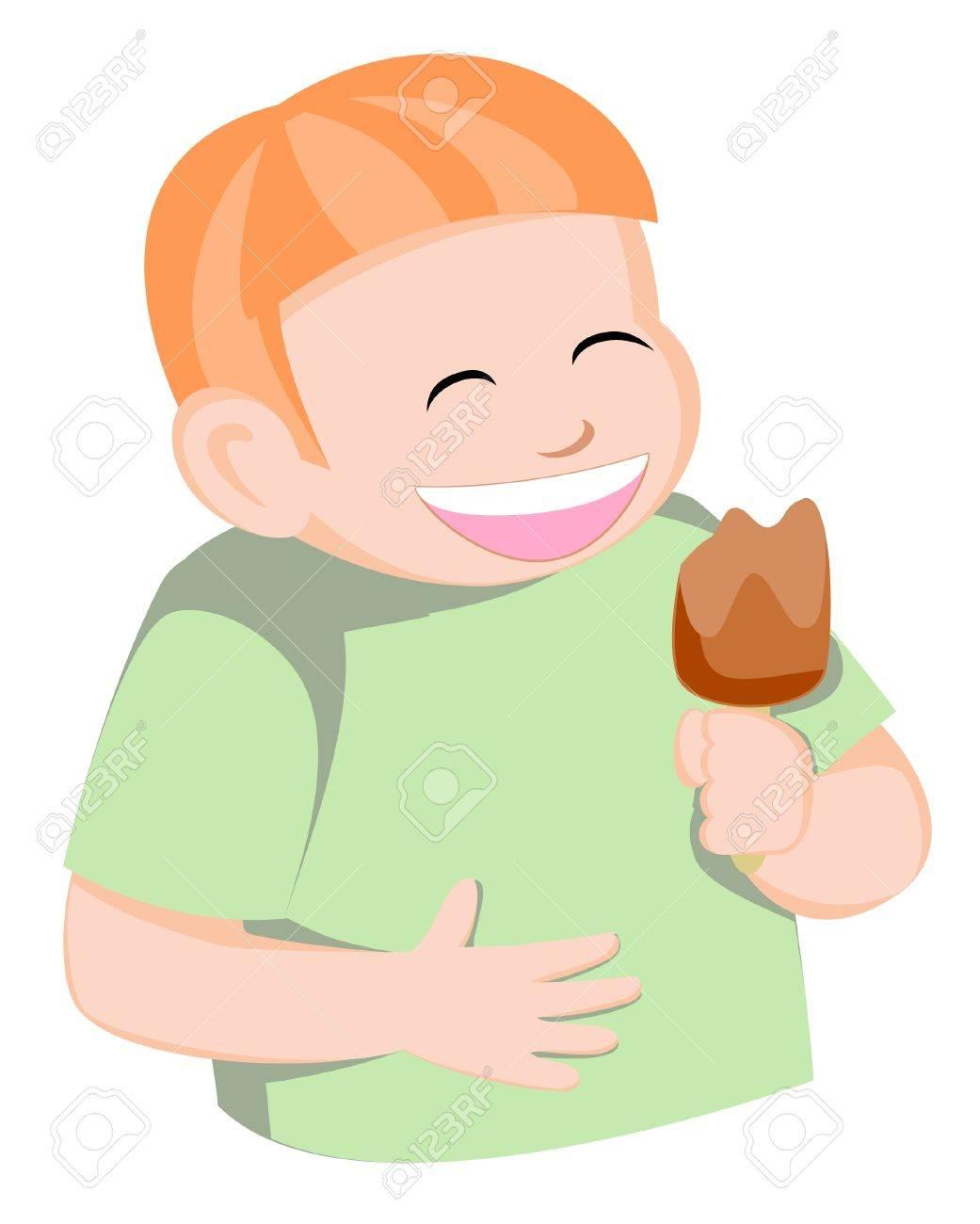 child ice cream Stock Vector - 14709480