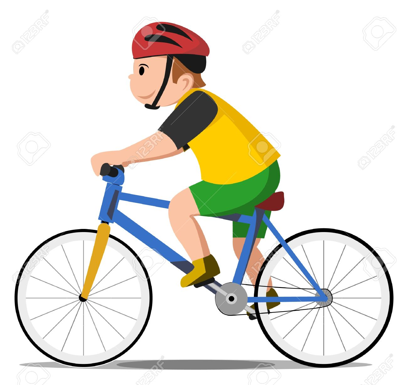 Bicycle Kid Royalty Free Cliparts, Vectors, And Stock Illustration ...