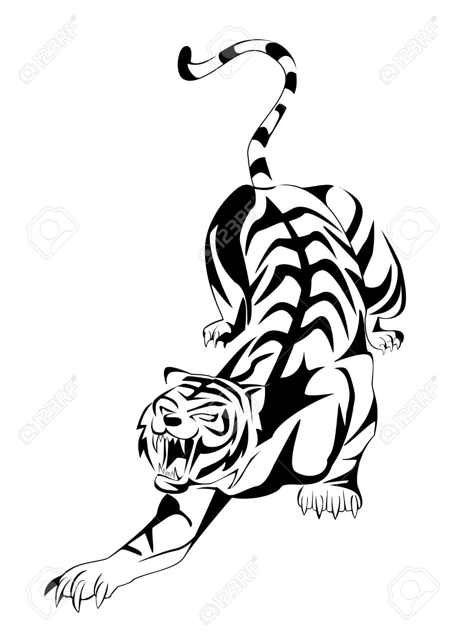 tiger Stock Vector - 14968178