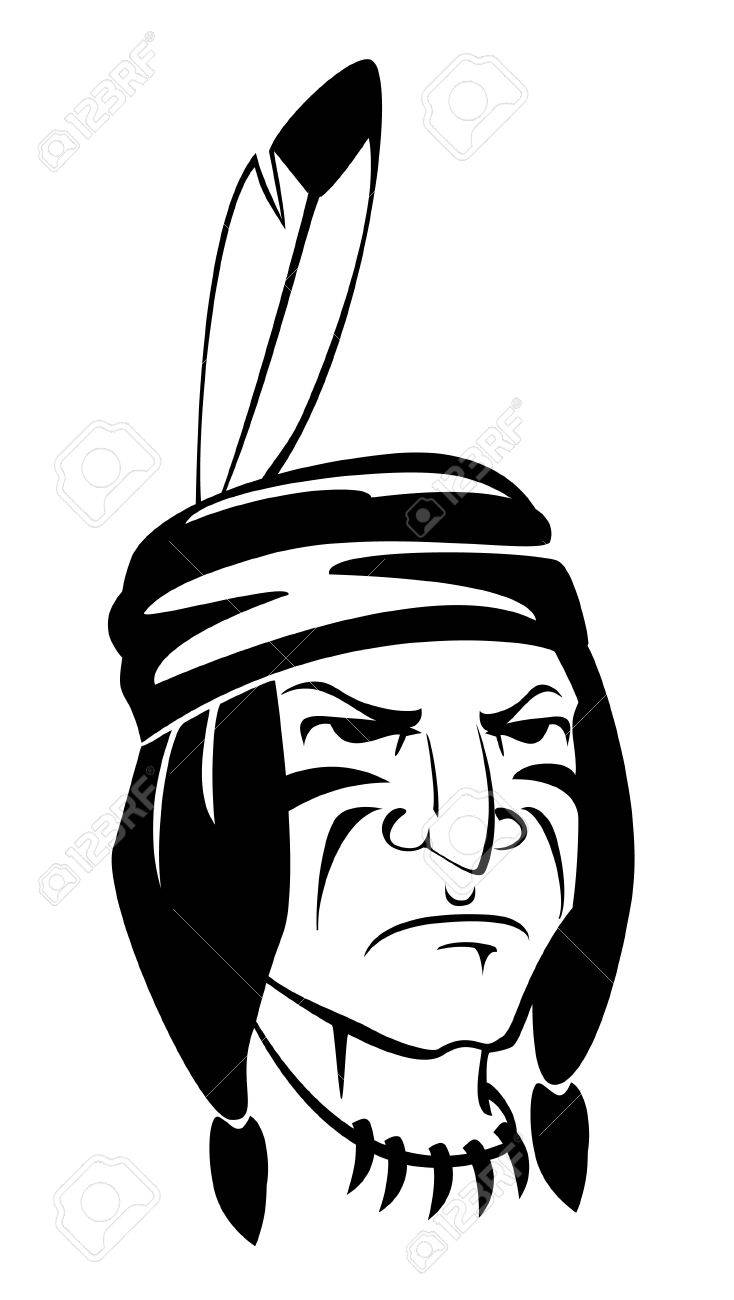 indian apache Stock Vector - 14968188