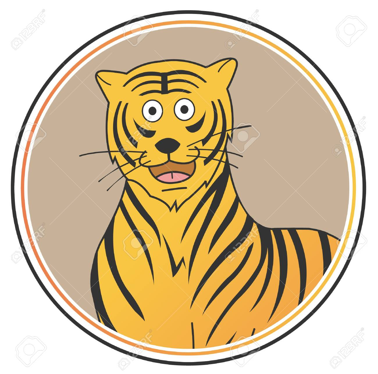 tiger Stock Vector - 15468797