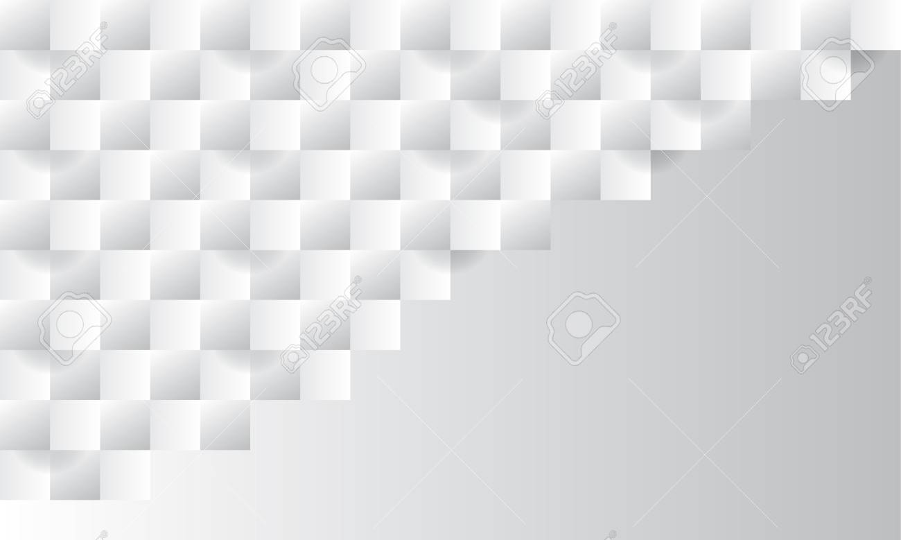 White Abstract Texture Vector Background 3d Paper Art Style