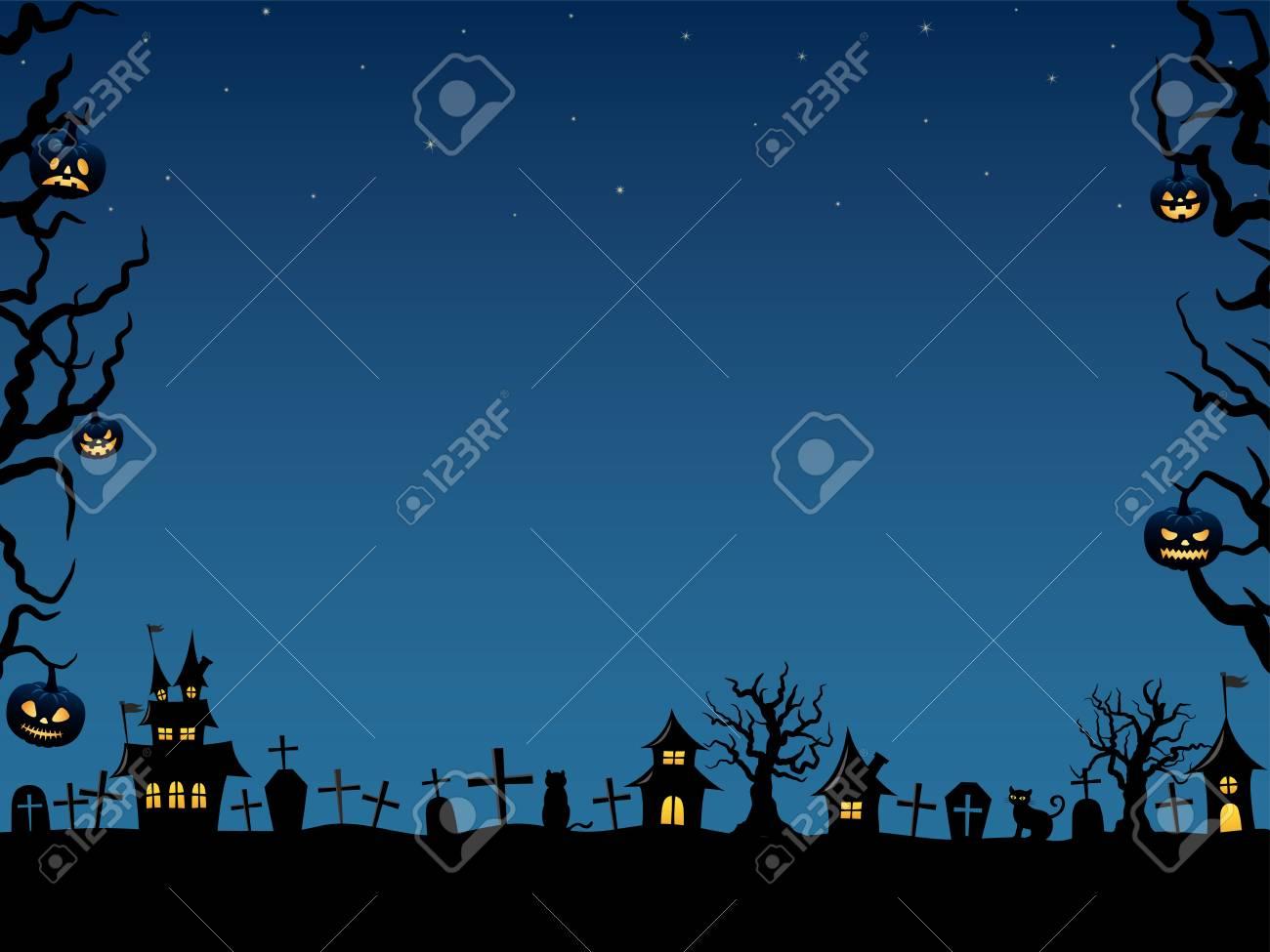Halloween vector background - 84503717