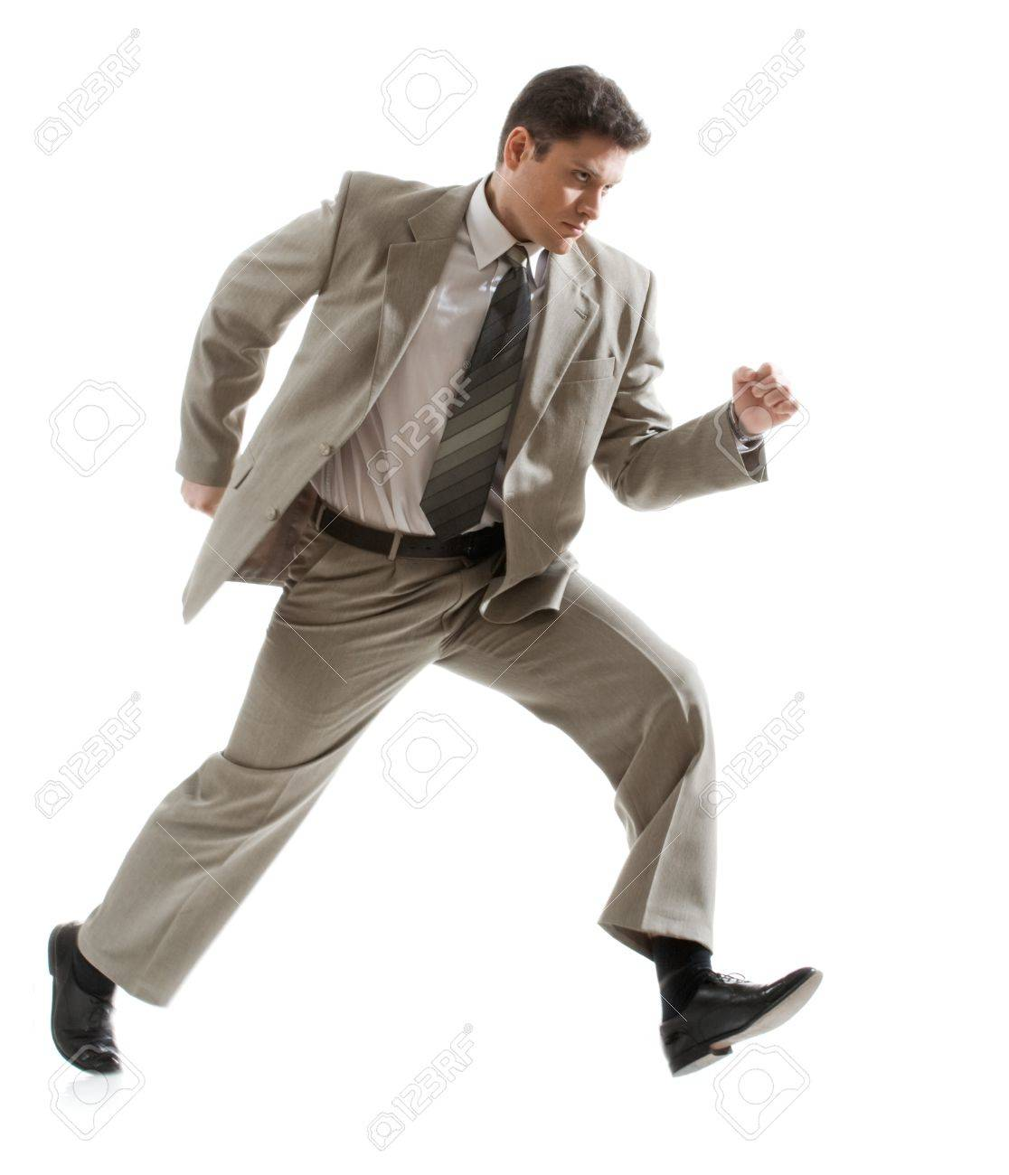 Photo of angry businessman going to subordinate person Stock Photo - 4111936