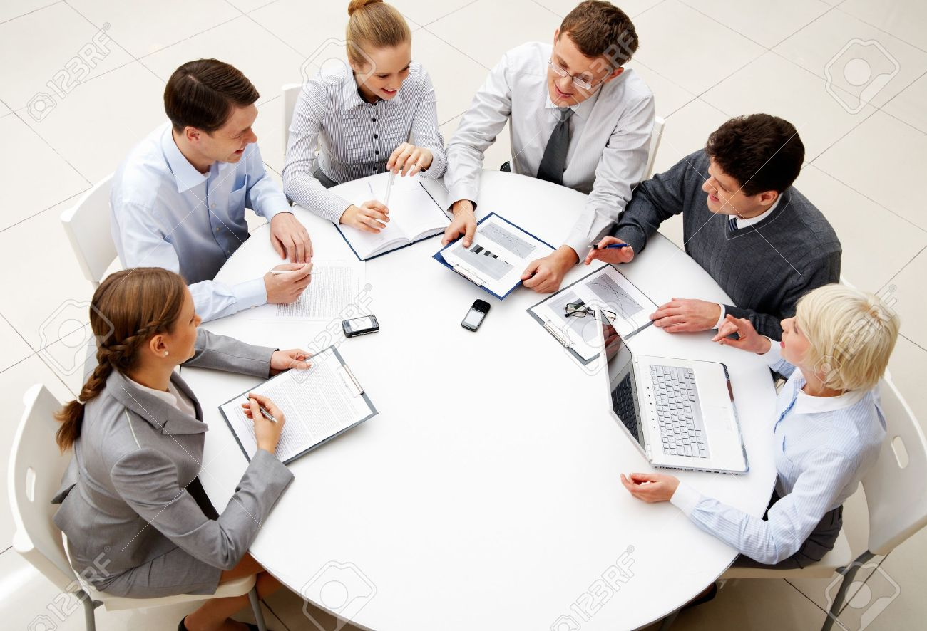 Business planning meeting