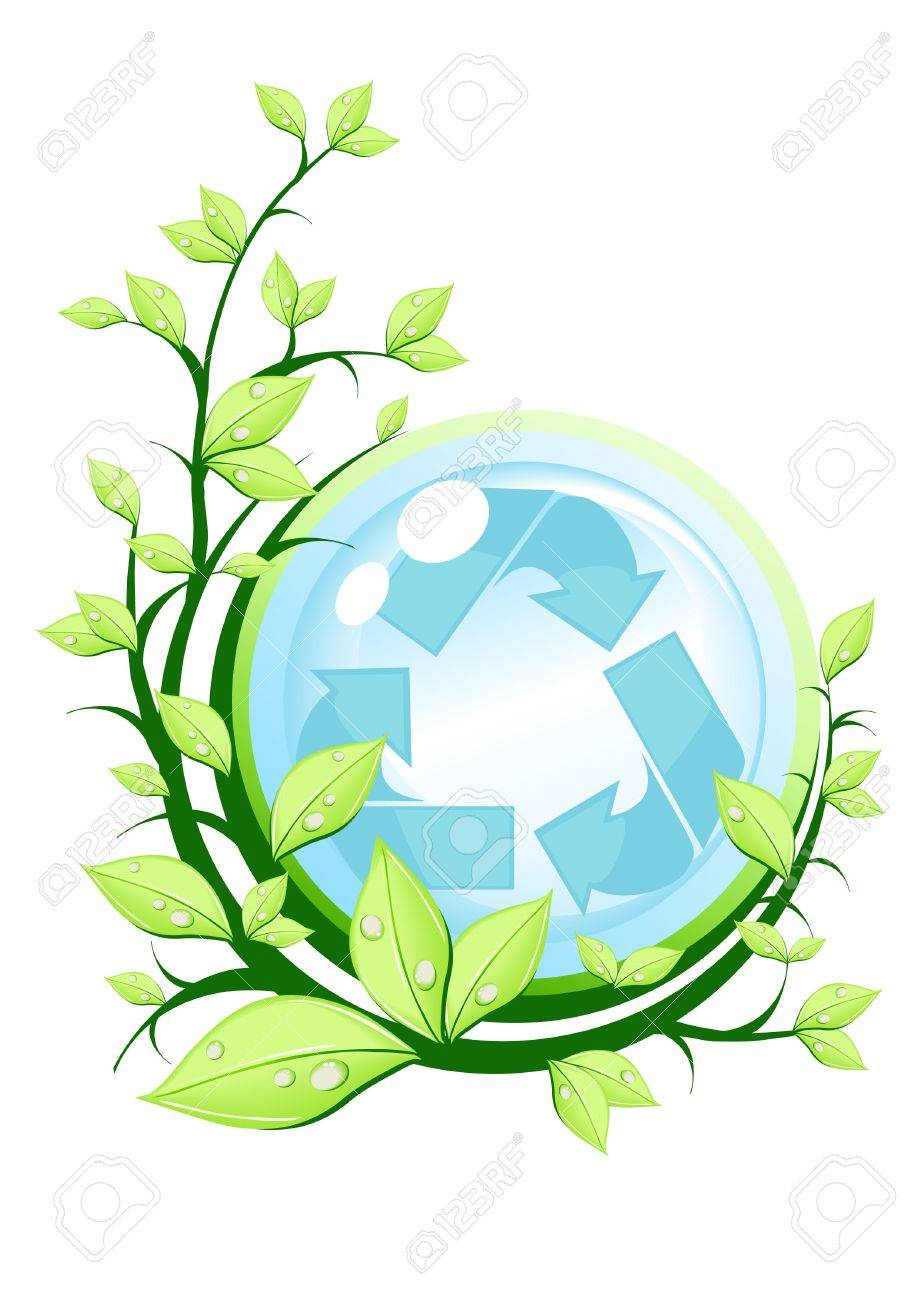 Vector illustration of recycle concept Stock Vector - 9428098