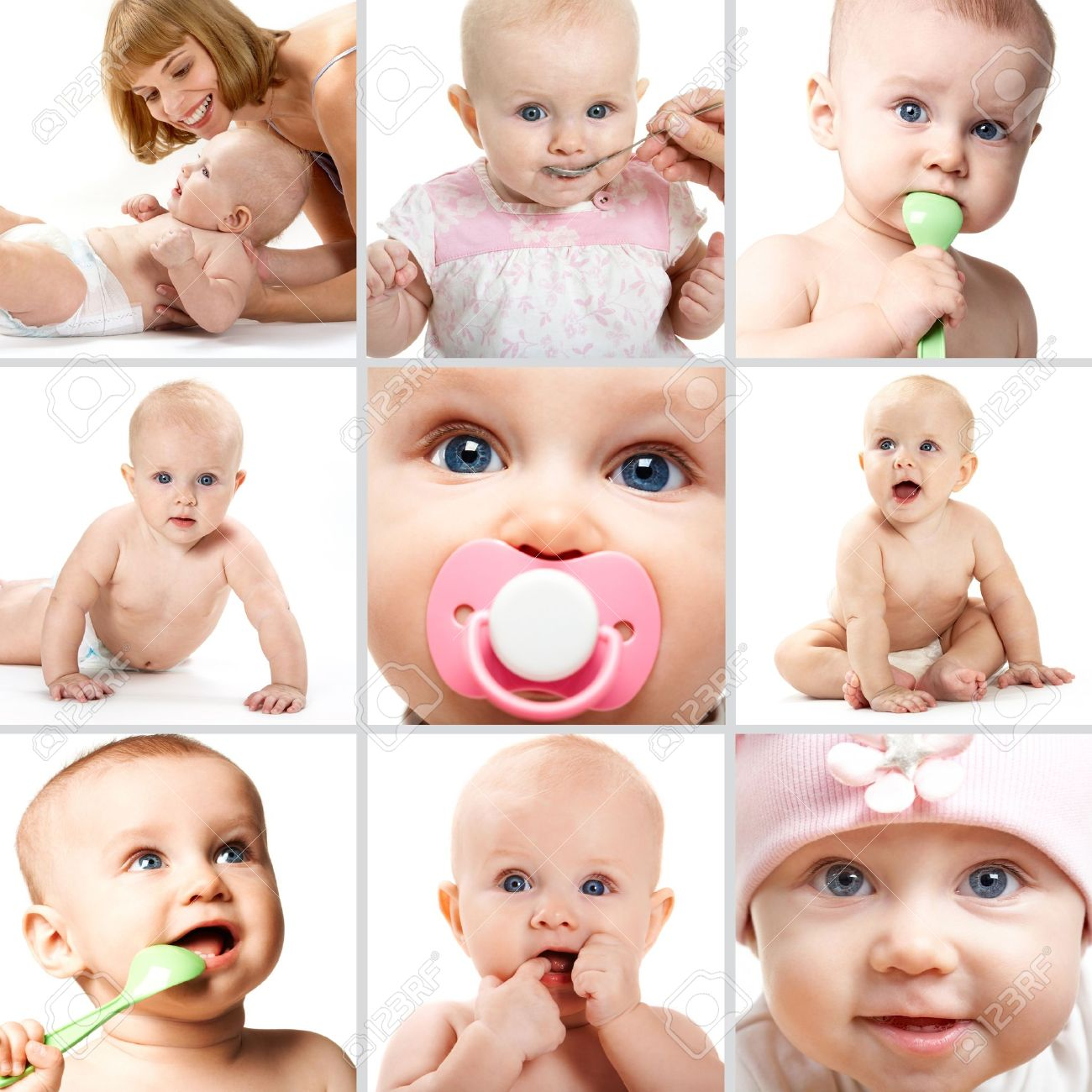Collage Baby Images & Stock Pictures. Royalty Free Collage Baby ...