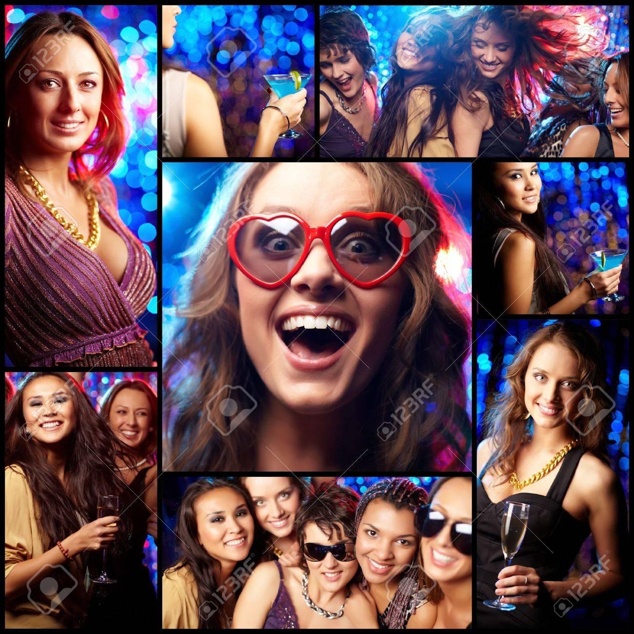 Фото русских девушек на вечеринке 5 фотография