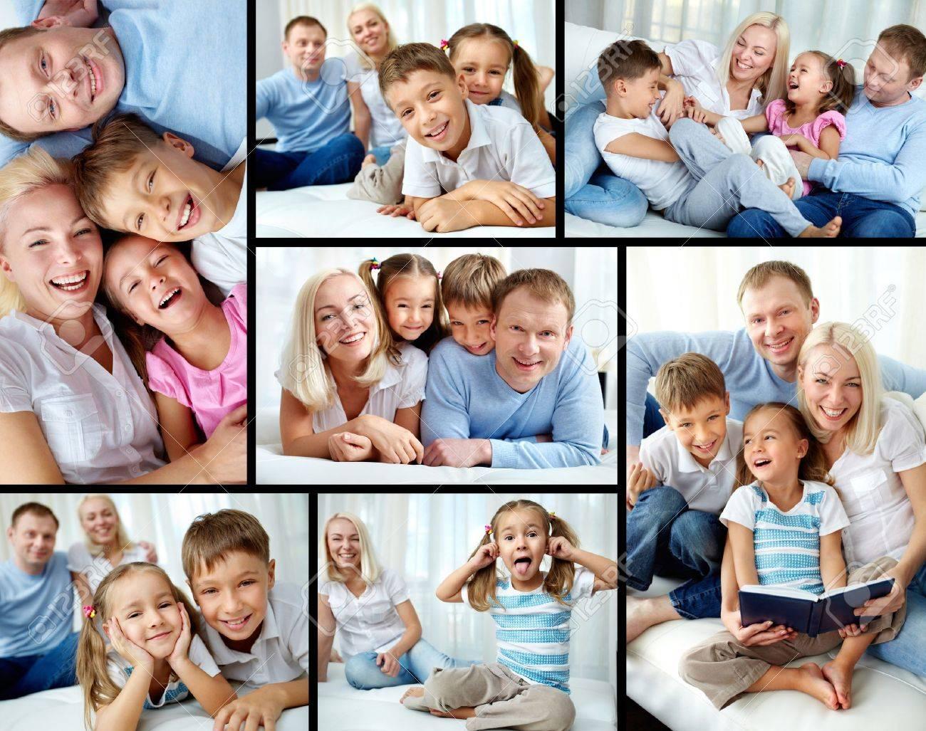 Как сделатьколлаж из семейных