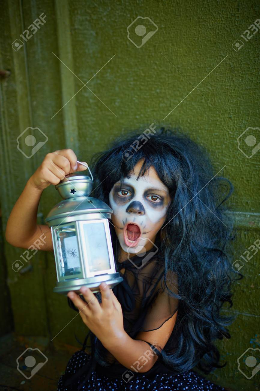 Weird Halloween Stock Photo 1