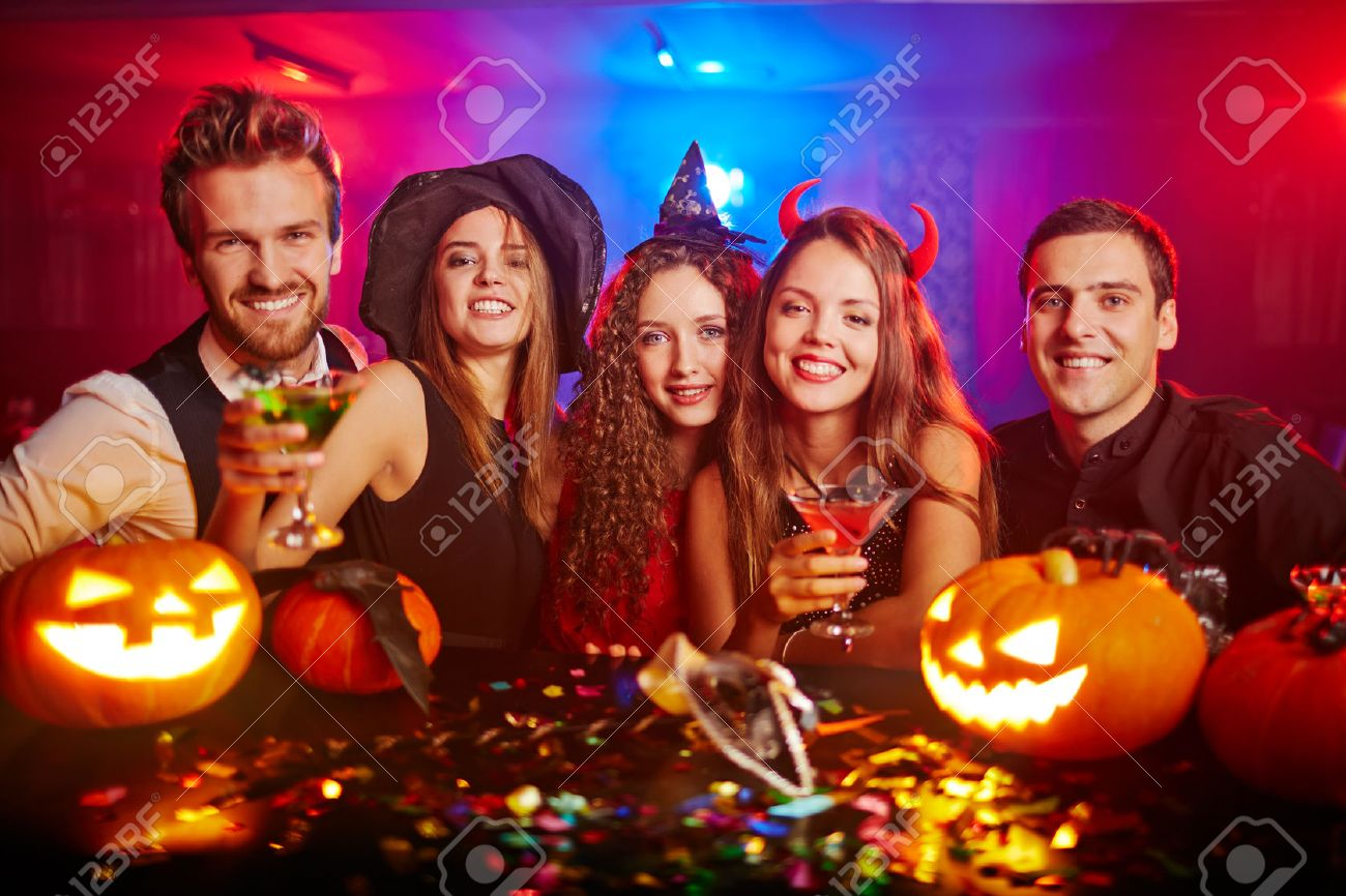 Halloween Party Stock Photos Images. Royalty Free Halloween Party ...